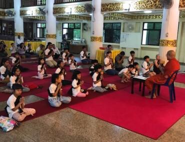 Buddhist Ethics Summer Course (in Myanmar)